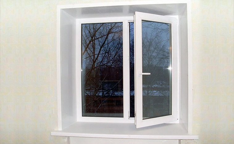 Купить двухстворчатые окна в Уфе