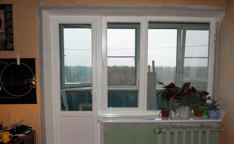 Купить балконный блок в Уфе