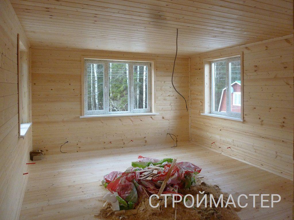 Окна пвх в деревянном доме Уфа
