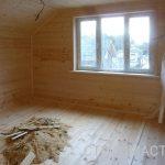 Установка окон пвх в деревянном доме