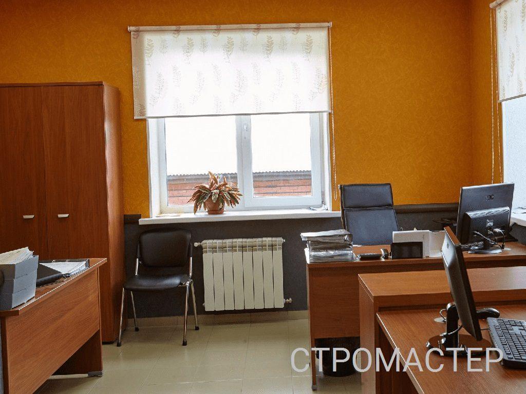 Монтаж окон в офисе