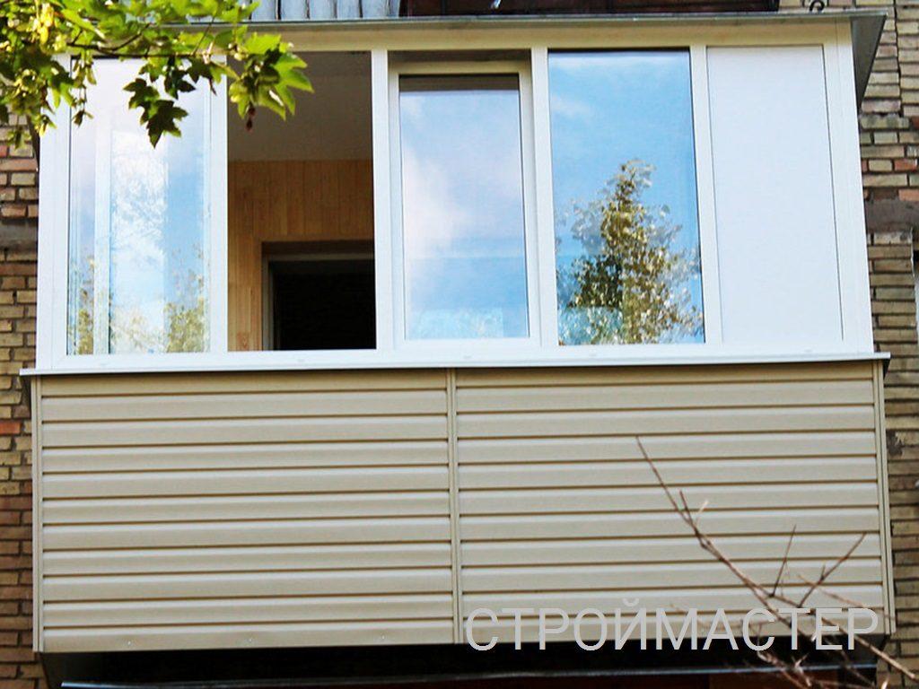 Остекление и отделка балкона Уфа