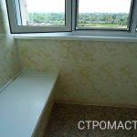 Остекление и обшивка балкона панелями
