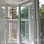 Теплое остекление балкона в Уфе