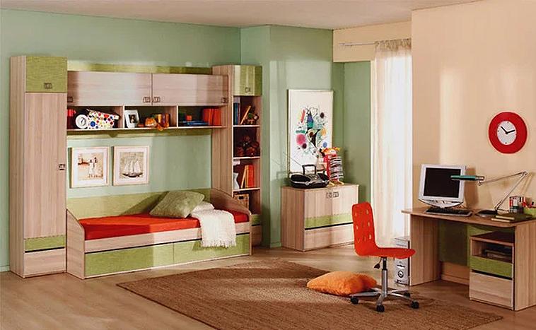 Корпусная мебель для детской на заказ в Уфе