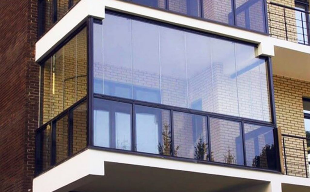 Остекление балконов купить в Уфе