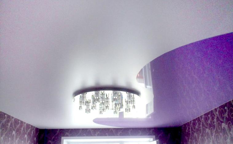 Комбинированные натяжные потолки Уфа