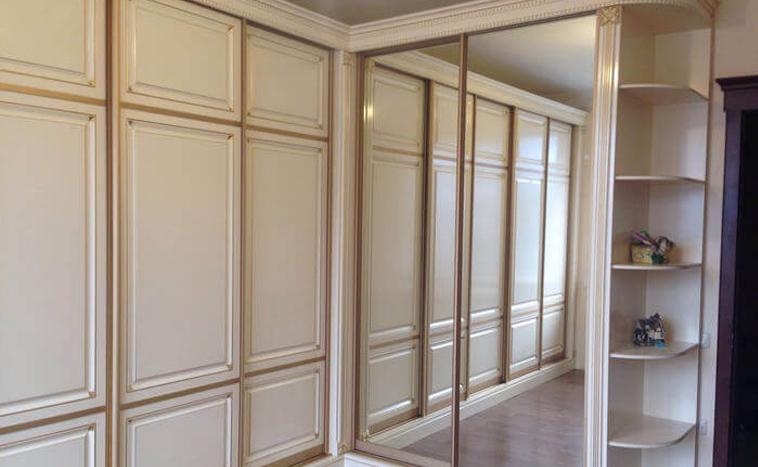 Двери из МДФ для шкафов купе в Уфе
