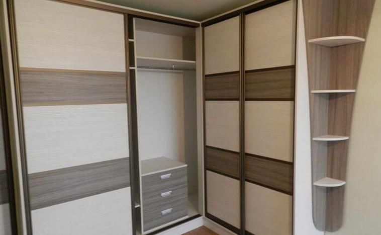 Нестандартные решения дверей для шкафов купе под заказ в Уфе