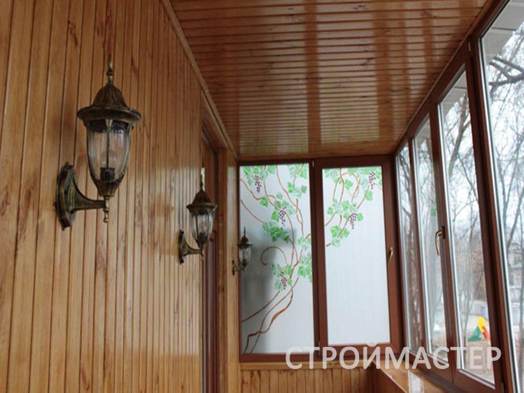 Отделка балкона Уфа
