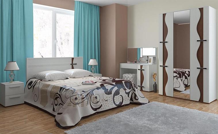 Корпусная мебель для спальни на заказ в Уфе